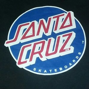 90s Santa Cruz Skateboards Shirt Skate California